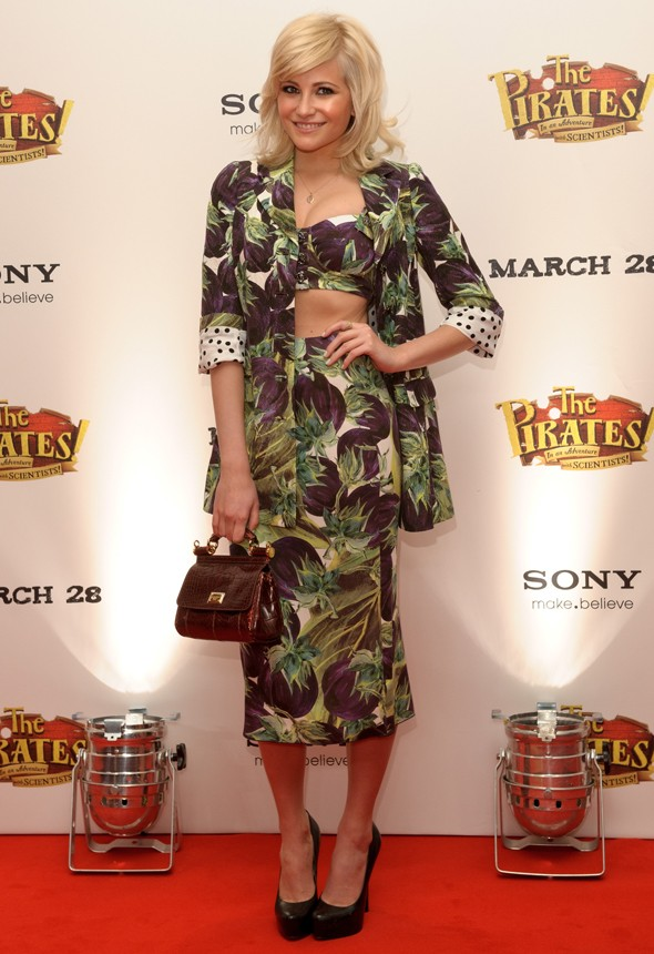 Pixie Lott, what are you wearing?
