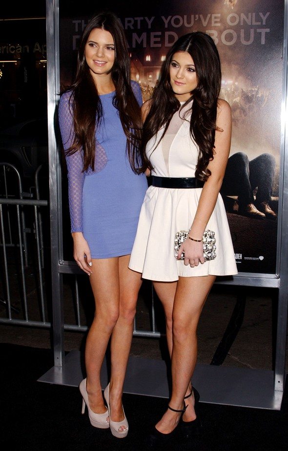 Kendall and Kylie dress up for the Project X premiere