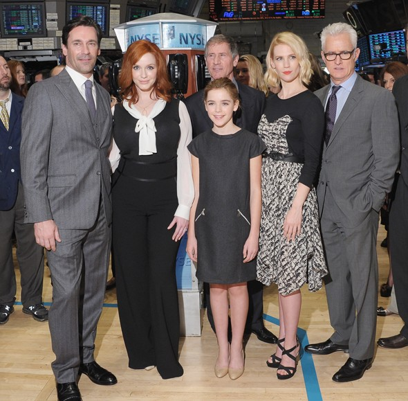 The Mad Men (and women) head to Wall Street