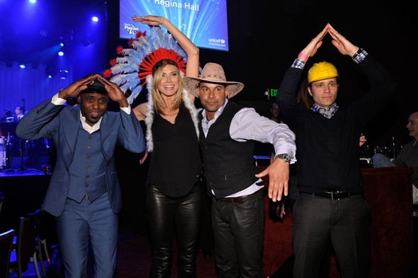 Is there a dress-up opportunity in the land that Heidi Klum can pass up?
