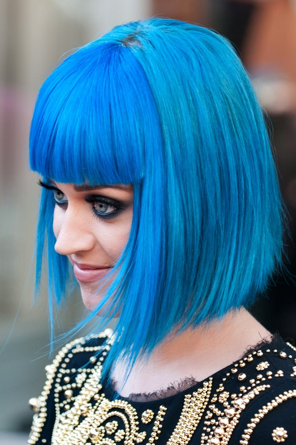 Hot or not: Katy Perry's fringe wiglet