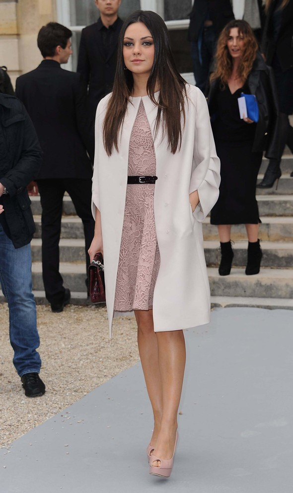 Mila Kunis, how does it feel to be Dior's darling?