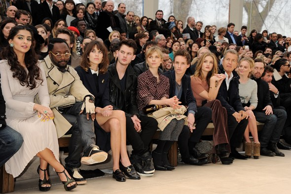 burberry-front-row