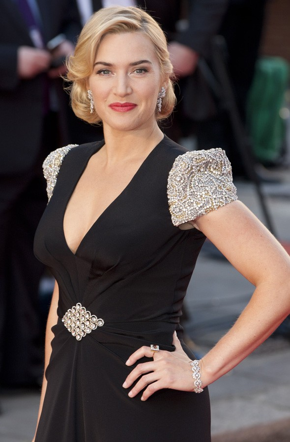 Kate Winslet at the world premiere of Titanic in 3D