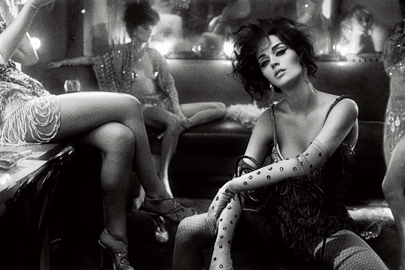 Katy Perry's Interview magazine shoot
