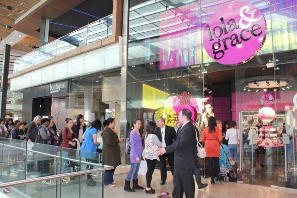 Lola and Grace store opening at Westfield Stratford