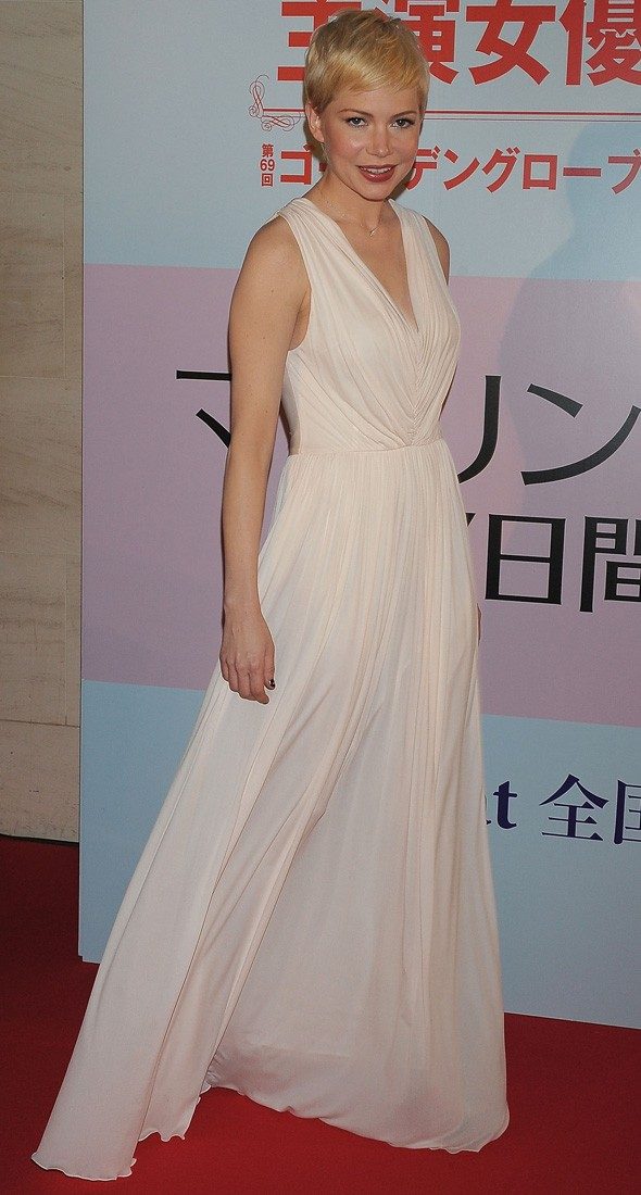 Michelle Williams at the My Week with Marilyn Tokyo premiere