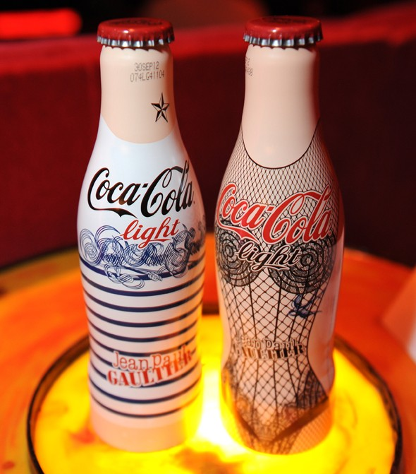 Body paint and nipple pasties? It can only be the Jean Paul Gaultier for Diet Coke launch