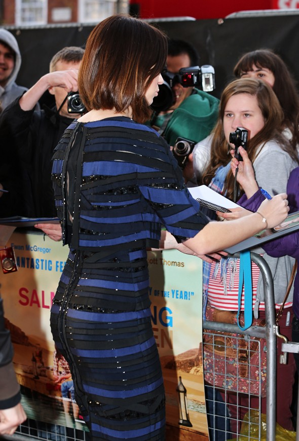 Masterpiece or disasterpiece: Emily Blunt's sequins and stripes