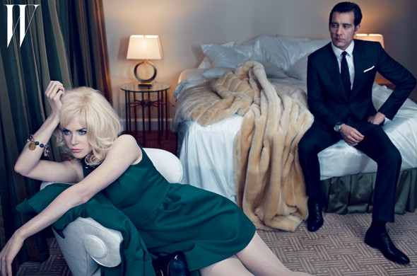 Nicole Kidman is gorgeous (and blonde) in retro-inspired photoshoot for W magazine