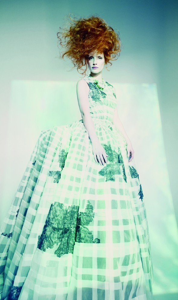 Jessica Chastain takes on couture for W Magazine