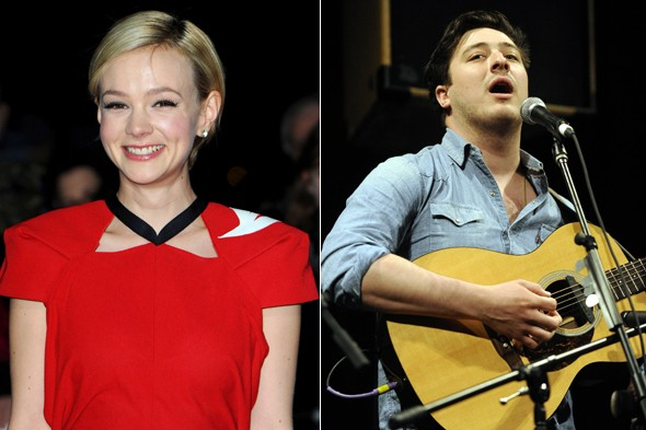 Carey Mulligan and Marcus Mumford tie the knot