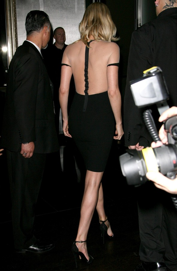 Charlize Theron in Dion Lee at the CinemaCon Awards in Las Vegas