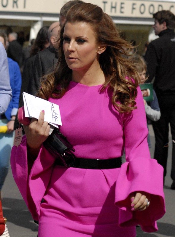 Coleen Rooney at Aintree Race course