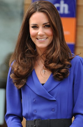 Get the look: The Duchess Kate blow dry