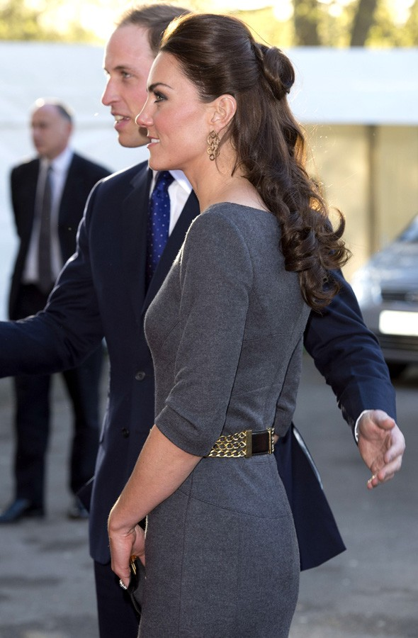 WIlliam and Kate at the Imperial War Museum fundraiser