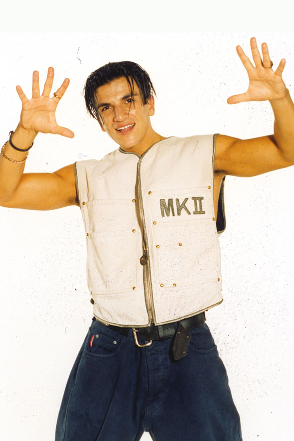 Important: Are Peter Andre's abs better now, or were they better then?