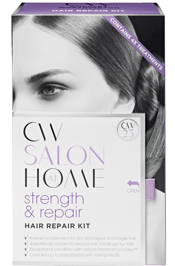 Win one of twelve Charles Worthington Shine Booster & Strength and Repair haircare sets