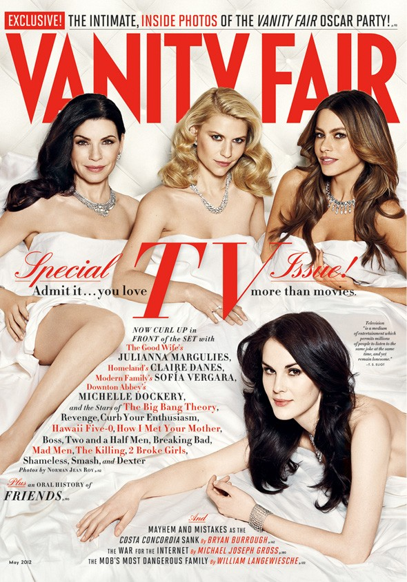Vanity Fair May issue celebrating TV actresses