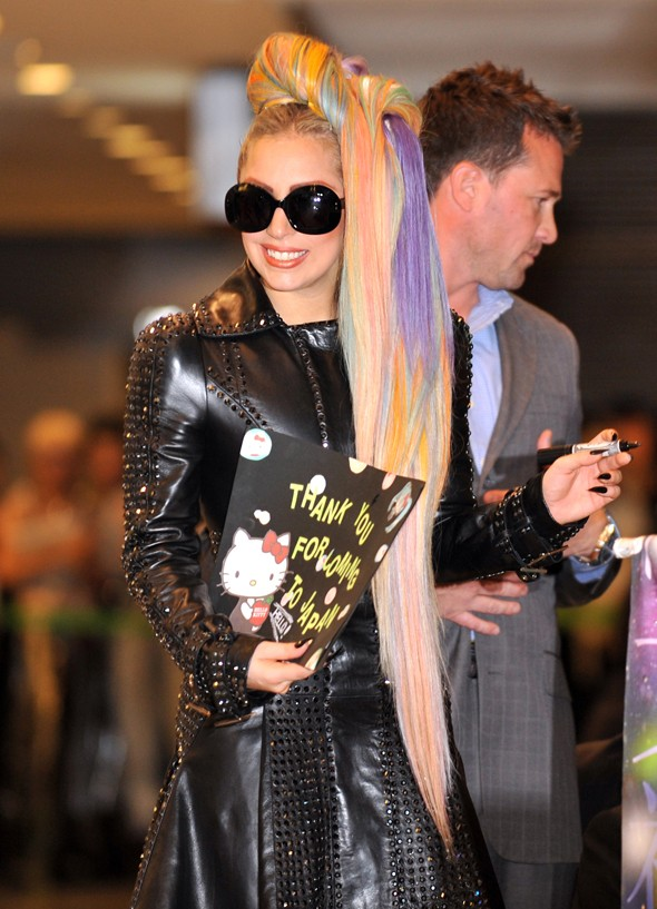 Lady Gaga's hair: Brought to you by My Little Pony?