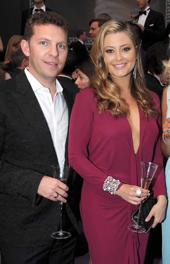 Holly Valance's dinner dress - refined or revealing?