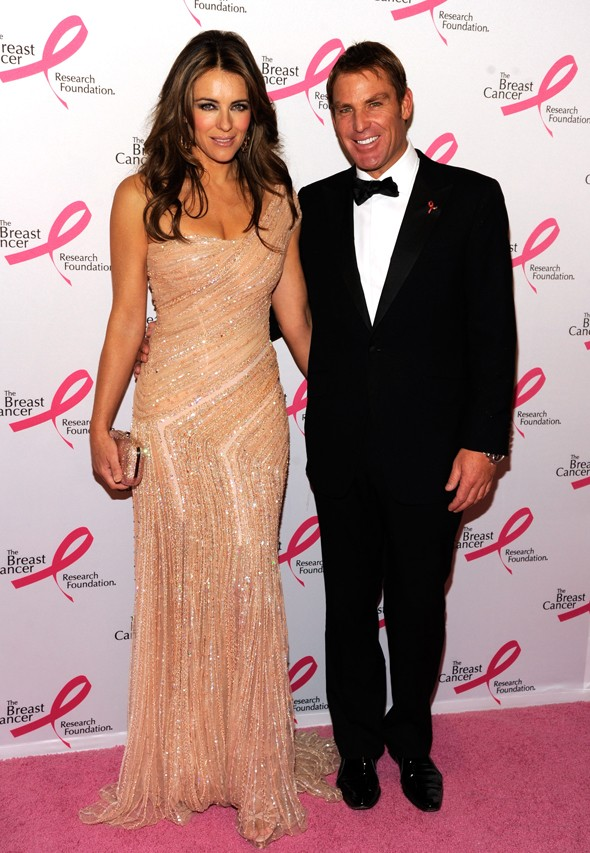 Liz Hurley attends the Breast Cancer Foundation's Hot Pink Party
