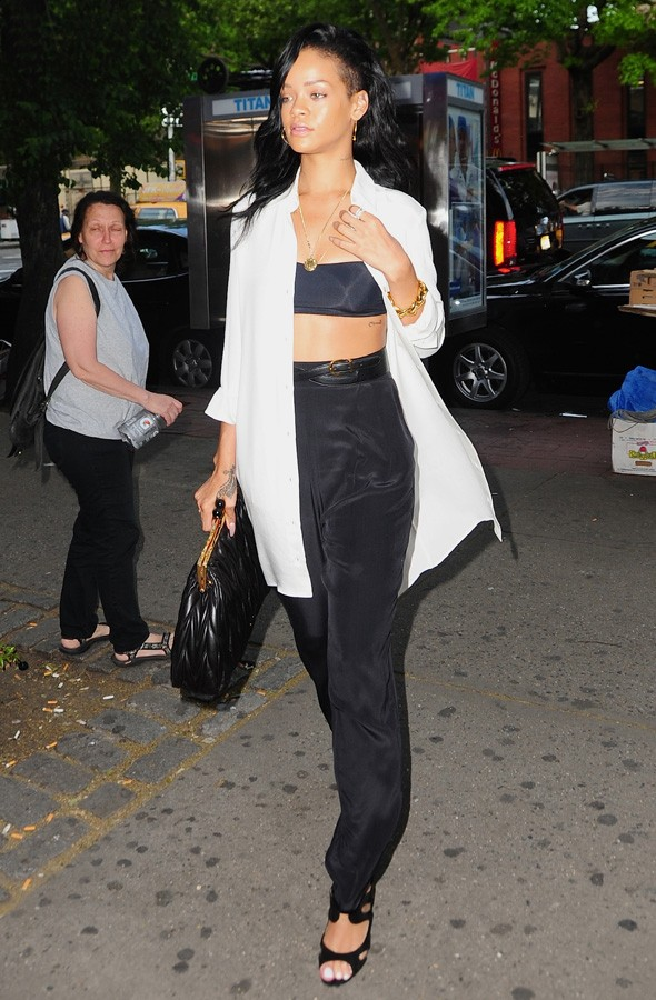 Rihanna out and about in New York