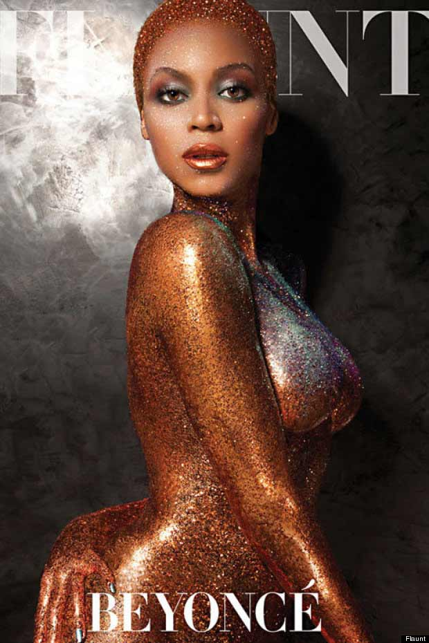 Beyonce Glitters In Nude For Flaunt Magazine Cover (Everyone Goes WOW)