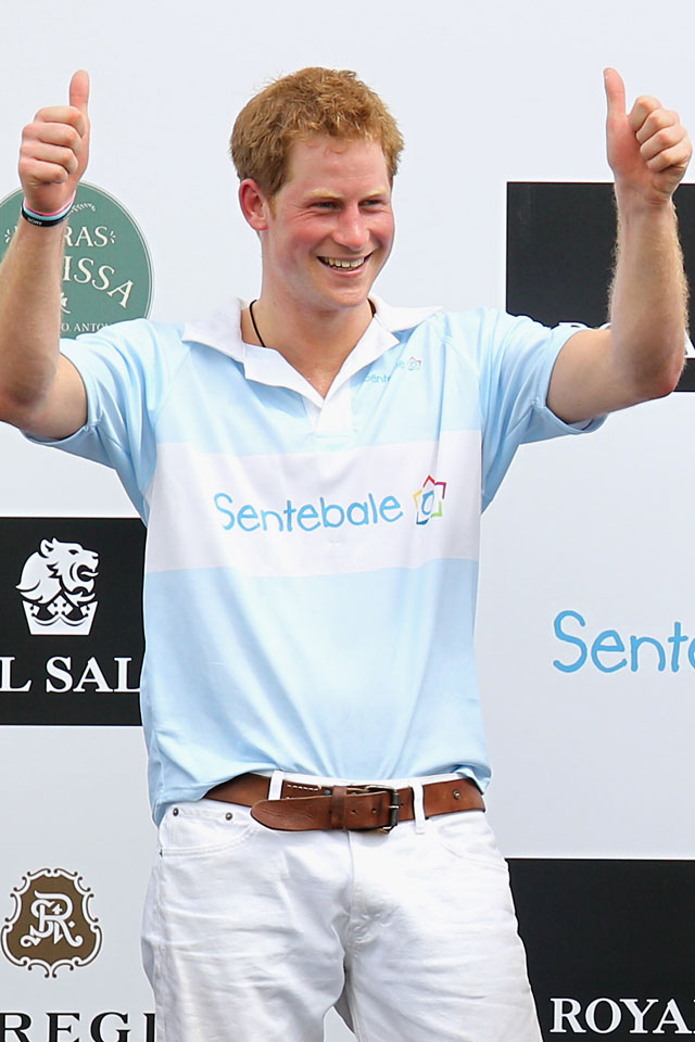 prince harry is the dream strictly celebrity