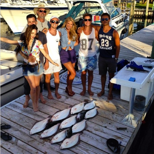 Gone Fishing! Christie Brinkley And Daughter Show Off Amazing Bikini Bodies In The Hamptons