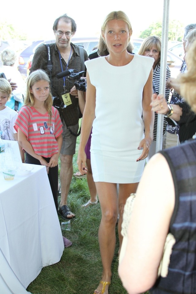 White Hot! Gwyneth Paltrow Wows At Hamptons Book Signing Without Her Makeup