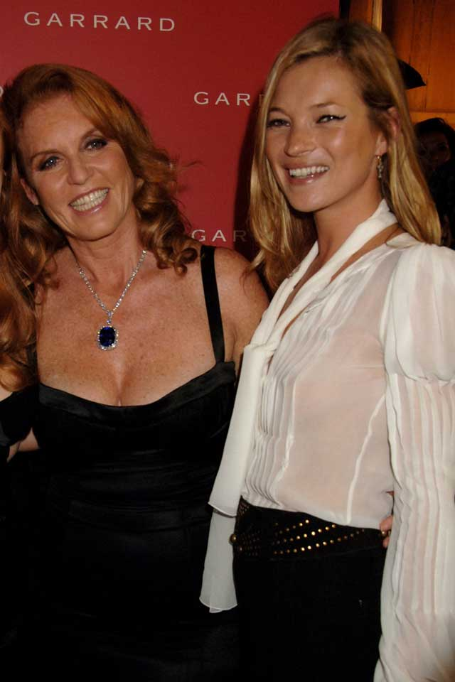 Sarah Ferguson And Kate Moss Really Are BFFs