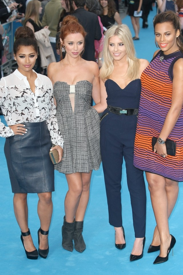 All Things Bright And Beautiful: The Saturdays Shine At We're The Millers Premiere