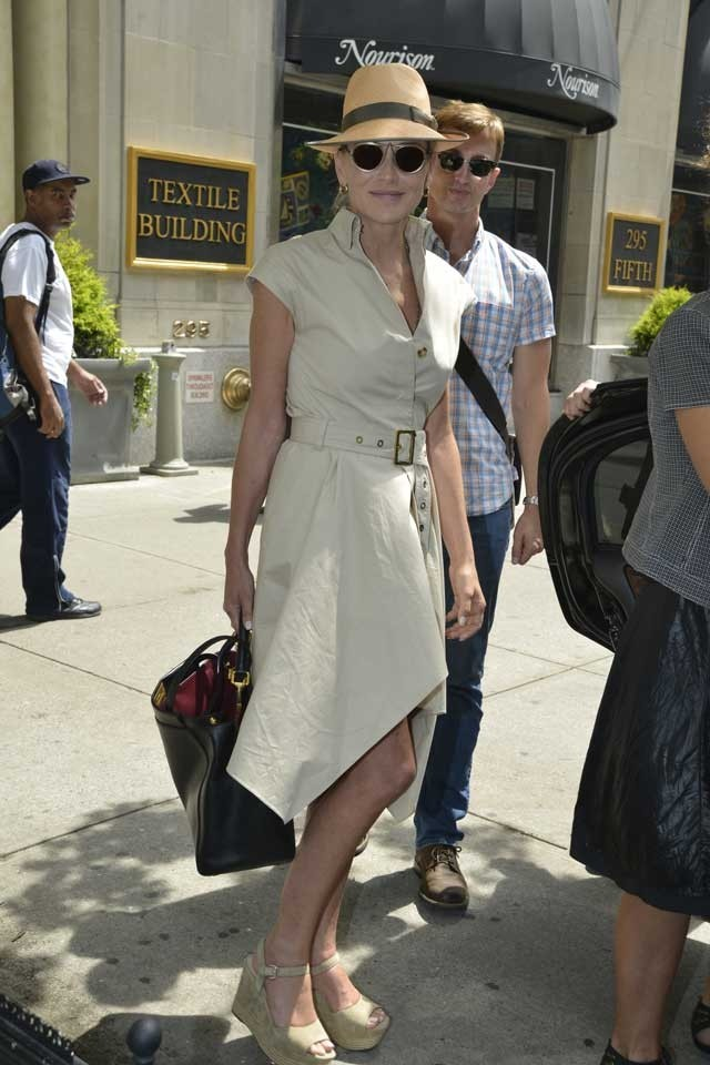 Sharon Stone Has A Fashion Triumph In This Summer's Staple Style