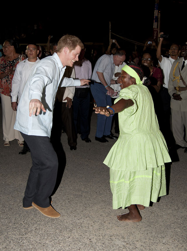 dream strictly come dancing contestant: prince harry