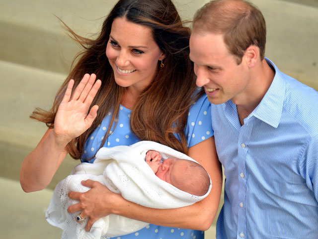 guy pelly will not be prince george's godfather