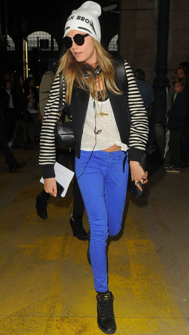 Cara Delevingne's In-Between-Catwalks Style? All About The Beanie