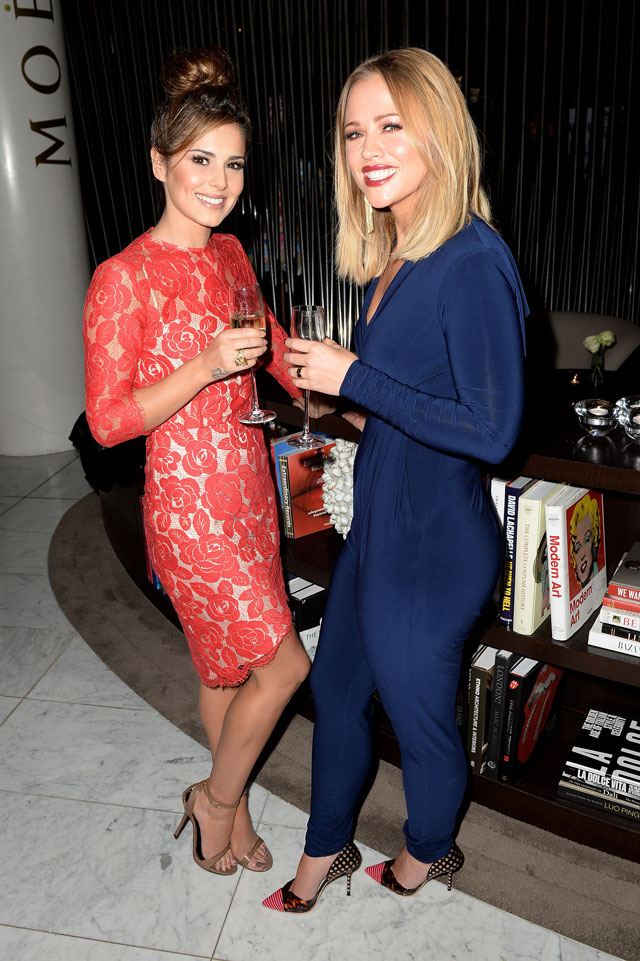 Kimberley Walsh And Cheryl Cole Celebrate Book Launch In Style