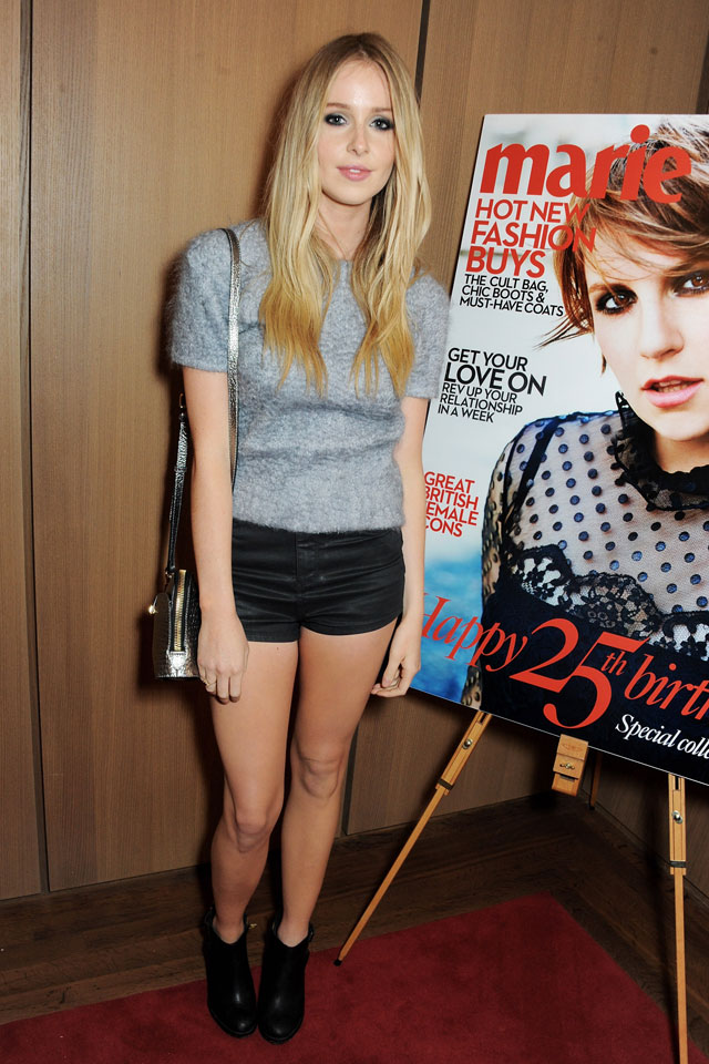 diana vickers at marie claire's 25th birthday