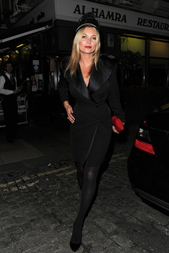 Rosie HW Wows In Cutout LBD At AnOther Magazine LFW Party