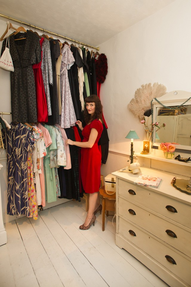 ​My Vintage Wardrobe: Katie Thomson, Founder Of The Powderpuff Girls