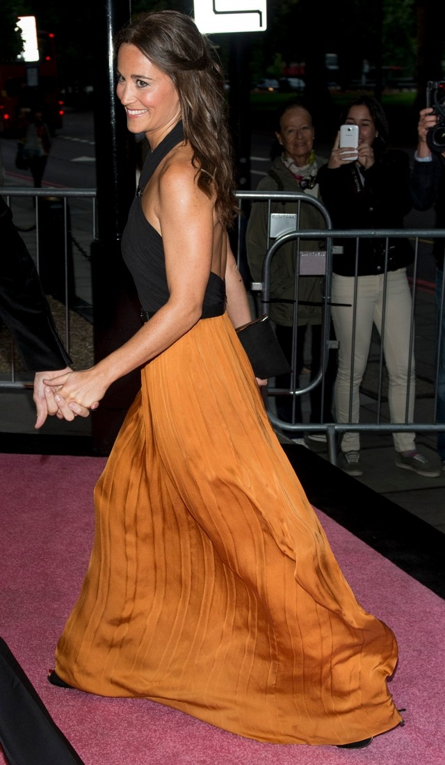 Pippa Middleton Wows In Backless Gown At Boodle Boxing Ball