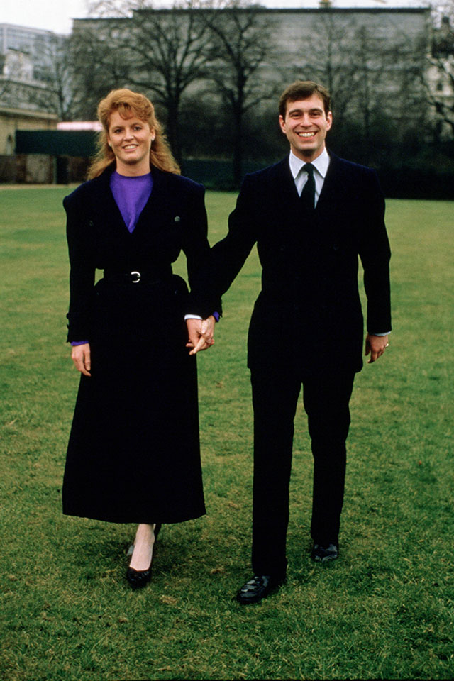sarah ferguson denies rumours she and prince andrew are romantically involved