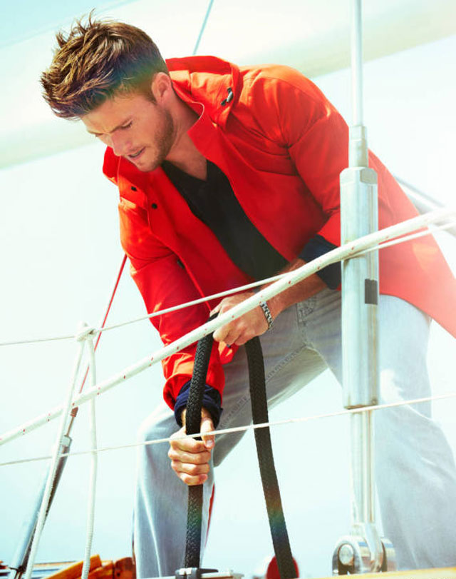 scott eastwood for town & country