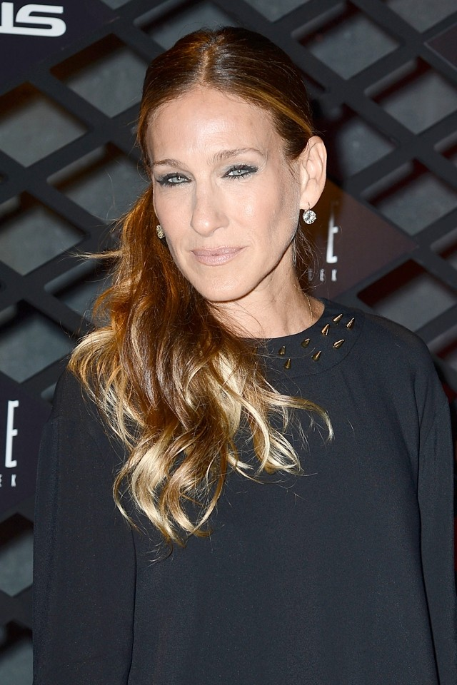 Erm, LEGS! SJP Wows In LBD At New York Fashion Week
