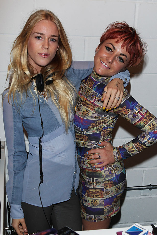 mary charteris & jaime winstone at village bicycle