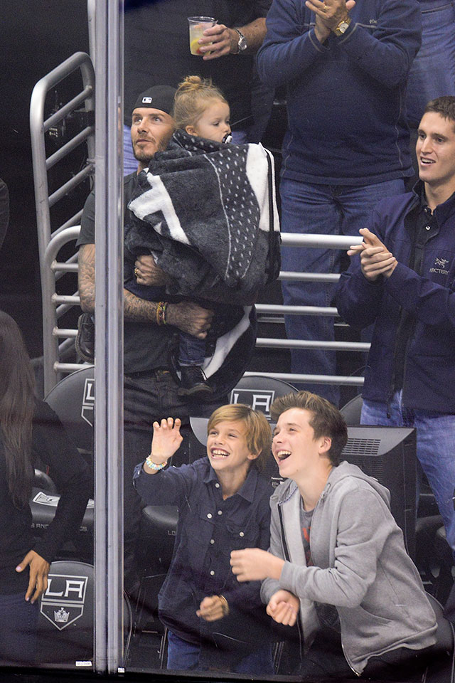 David And Harper Beckham: LOADS Of Cute Pictures!
