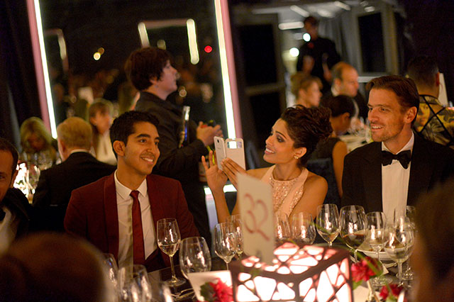 Freida Pinto And Dev Patel Are The Best Dressed (And Cutest) Couple At Performing Arts Gala