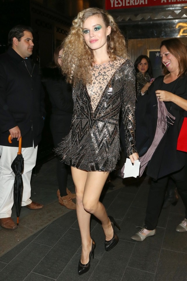 Legs Eleven! Georgia May Jagger Does Sexy 20s Chic At Rimmel Party