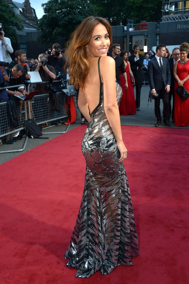 Sheer Daring! Myleene Klass Bares Boobs In See-Through Dress At Classic Brit Awards 2013